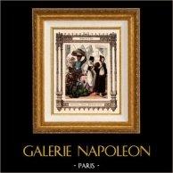 Franse mode en kostuums - 16e Eeuw - XVIe Century - Gewone mensen
