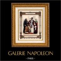 Moda Francesa y Trajes - Siglo 16 - Siglo XVI - Corte Reale