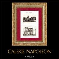 History and Monuments of Paris - Institut de France - Beaux-Arts de Paris - Arch of Gaillon