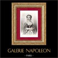 Portret van een Vrouw - Koningin van Frankrijk