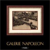 Sadi Carnot vierde president van de Derde Franse Republiek gaat naar het Pantheon