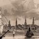 DÉTAILS 03   États-Unis d'Amérique - Vue de Boston - Voilier - Départ de la Flotte Anglaise