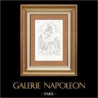The Virgin and Child - Madonna of Foligno (Raffaello Sanzio called Raphael)