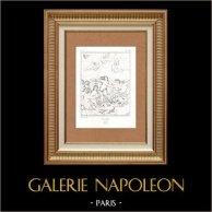 Triunfo de Galatea (Raffaello Sanzio llamado Rafael)