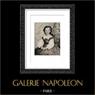 Portrait de Mademoiselle R. Lancaux (Auguste Renoir) | Héliogravure originale d'après Auguste Renoir. 1944