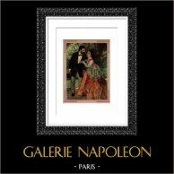 Monsieur et Madame Sisley (Auguste Renoir) | Planche d'après Auguste Renoir. 1944