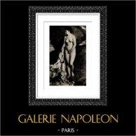 Baño - Desnudo Artístico - Baigneuse au Griffon (Auguste Renoir)