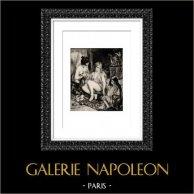 Algerian - Parisian Equipped into Algerian (Auguste Renoir) | Original heliogravure after Auguste Renoir. 1944
