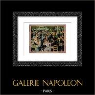 Le Moulin de la Galette (Auguste Renoir) | Plate after Auguste Renoir. 1944