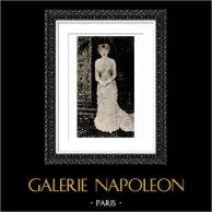 Retrato de Madame Jeanne Samary (Auguste Renoir)