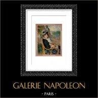 Retrato - Portrait au Bord de la Mer (Auguste Renoir)
