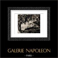 Vista de Bougival - Velero (Auguste Renoir)