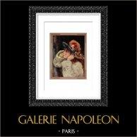 Portrait d'une Fillette - Fleur des Champs (Auguste Renoir)