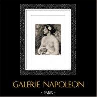 Sicilia - Italia - La Siciliana - Desnudo Femenino (Auguste Renoir)