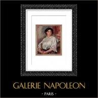 Portrait of Gabrielle Sitting on a Chair (Auguste Renoir)