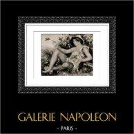 Male Nude - Jeune Patre au Repos (Auguste Renoir)