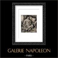 Female Nude - Odalisque (Auguste Renoir)