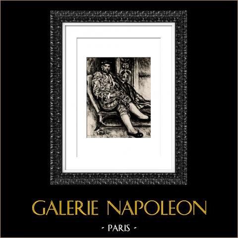 Torero - Matador - Ambroise Vollard (Auguste Renoir) |