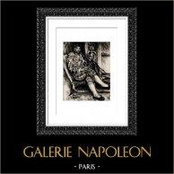 Torero - Matador - Ambroise Vollard (Auguste Renoir) | Héliogravure originale d'après Auguste Renoir. 1944