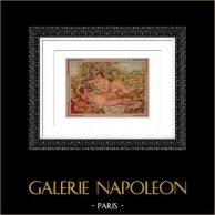 Bath - Art Nude - Le Repos après le Bain (Auguste Renoir)