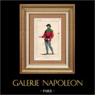 French Costumes - XIVth Century - Gardener