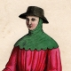 DÉTAILS 01   Costumes Français du XIVème Siècle - Jardinier