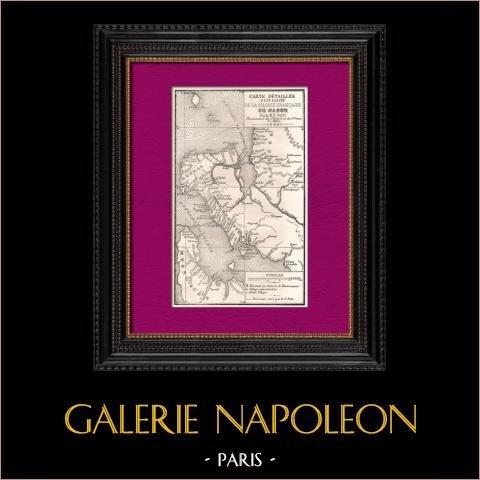 Antieke Kaart van Gabon (Afrika) - De voormalige Franse kolonie - RP Neu - Missionarissen |