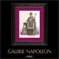 Portrait of Charles Martial Lavigerie (1825-1892) - Archbishop - Algiers - Catholic Missionaries