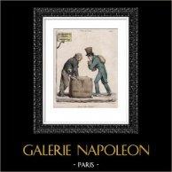 Caricature - Paris - The Employer Exploiter