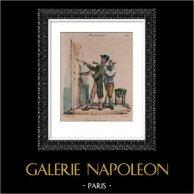 Caricature - Paris - The Painters without Talent