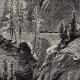 DÉTAILS 02   Vue des Gorges de la Via Mala (Suisse) - Canton des Grisons