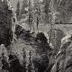 DÉTAILS 03   Vue des Gorges de la Via Mala (Suisse) - Canton des Grisons
