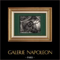 Soldato Napoleonico - Letto di Morte - Addio Figlio! Lo ho Visto… Sono Soddisfatto!