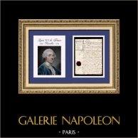 Document Historique - Règne de Louis XV de France - 1772 - Louis XV, Roi de France et de Navarre