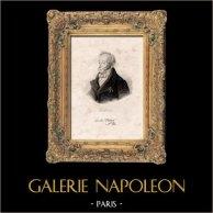 Portrait de Carle Vernet (1758-1836) - Peintre Français - Batailles - Chasses