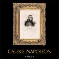 Portrait of Philippe de Champaigne (1602-1674) - French Painter - Flemish born - Classicism