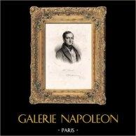 Retrato de Paul Delaroche (1797-1856) - Pintor Francês - Academicismo