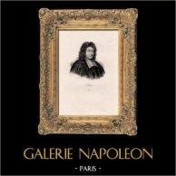 Portrait de Paul Pellisson (1624-1693) - Ecrivain Français