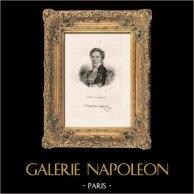 Portrait of Claude François Chauveau-Lagarde (1756-1841) - Lawyer - French Politic - French Revolution