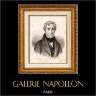 Portret Louis Mathieu Comte Molé (1781-1855) - Francuski Polityk