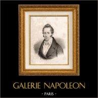 Portret Etienne Garnier-pagès (1801-1841) - Francuski Polityk