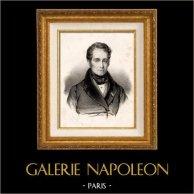 Portret Victor de Broglie (1785-1870) - Francuski Polityk