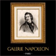 Portrait of Honoré de Balzac (1799-1850) - French Author
