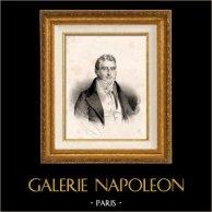 Portret Jacques Laffitte (1767-1844) - Francuski Polityk