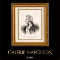 Portret Pierre-simon Ballanche (1776-1847) - Francuski Autor