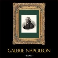 Retrato de Pierre Poivre (1719-1786) - Agrónomo Francés