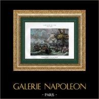 Campagne d'Égypte - Empire Ottoman - Débarquement de Napoléon à l'Ile de Malte - Armée d'Orient - 9 Juin 1798