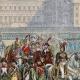 DÉTAILS 02 | Guerres de la Révolution Française - Armée d'Italie - Revue de l'Armée Italienne à Milan par le Général en Chef Murat - 1800