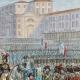 DÉTAILS 03 | Guerres de la Révolution Française - Armée d'Italie - Revue de l'Armée Italienne à Milan par le Général en Chef Murat - 1800