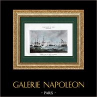 French Revolutionary Wars - Naval Battle - Spain - Frigate - Bay of Algeciras - Gibraltar - 1801
